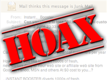 hoax emails