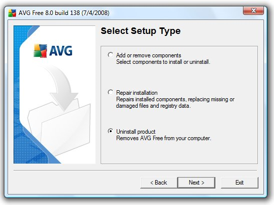 avg uninstall tool