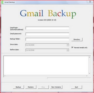 gmail backup restore software