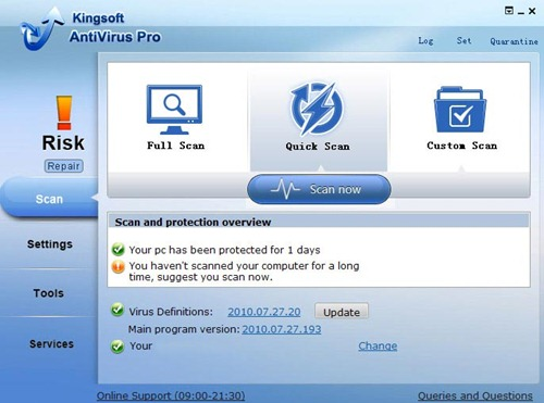 cloud antivirus kingsoft