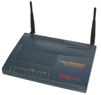 draytek router password