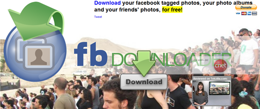 Download Facebook Pics, Photo Albums, Tagged Photos, Friends